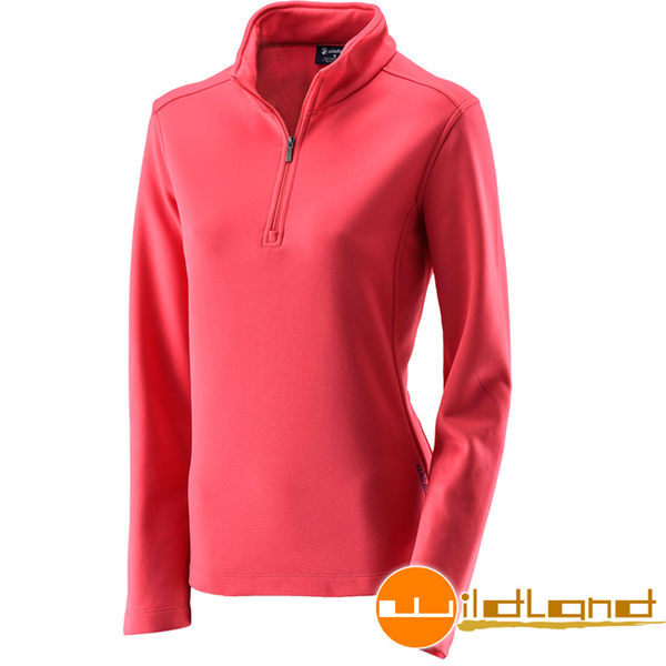 Wildland 荒野 0A22605-17嫣紅色 女抗菌除臭保暖上衣