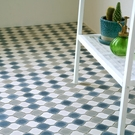1米起訂磚紋 地板卷材 磁磚紋 客廳 日本地板材/HM-4136