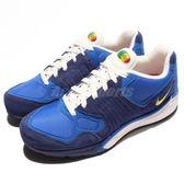 Nike 復古慢跑鞋 Air Zoom Talaria 16 復刻 藍 黃 運動鞋 男款【PUMP306】 844695-401