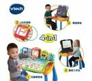 【Vtech】4合1多功能互動學習點讀寫桌椅組