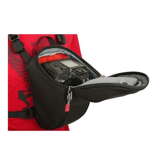 美國【CLIK ELITE】CE702 Standard SLR Chest Carrie 標準單眼三角胸包