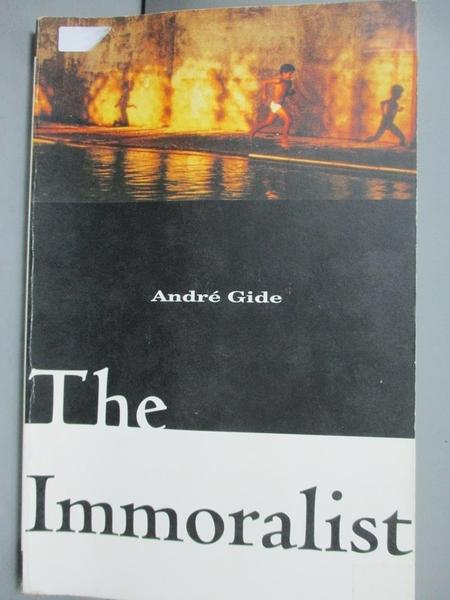 【書寶二手書T7/原文小說_G5O】The Immoralist_Gide, Andre/ Howard, Richar