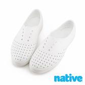 Native JERICHO PRINT 洞洞鞋 113004001999 女款 全白【iSport愛運動】