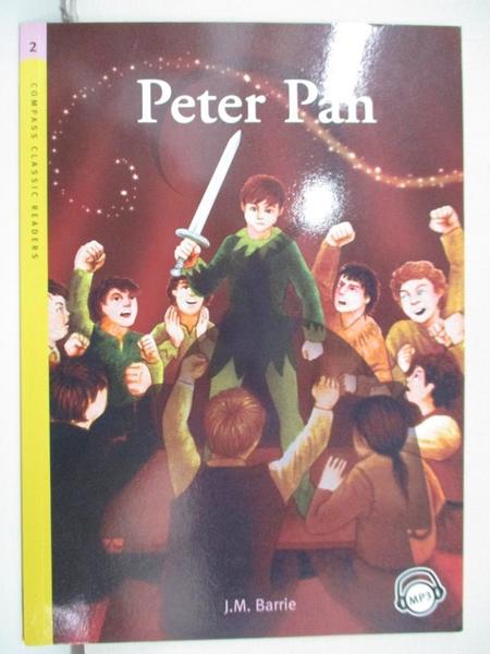 【書寶二手書T1/語言學習_CFR】Compass Classic Readers Level 2 :Peter Pan_附光碟