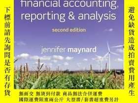 二手書博民逛書店Financial罕見Accounting, Reporting, And AnalysisY364682 J