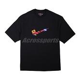 Nike 短袖 Jordan Jumpman 85 男款 黑 彩 厚磅 布章 落肩 喬丹【ACS】 DA9899-010
