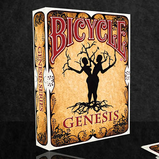 【USPCC 撲克】撲克牌BICYCLE 808 GENESIS  ABORIGINAL PLAYING CARDS