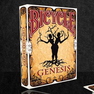 【USPCC 撲克】撲克牌BICYCLE 808 GENESIS  ABORIGINAL PLAYING CARDS