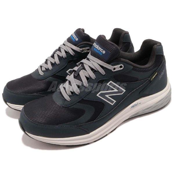 New Balance 慢跑鞋 880 2E Wide 寬楦 黑 白 Gore-Tex 男鞋 健走鞋【PUMP306】 MW880GN32E