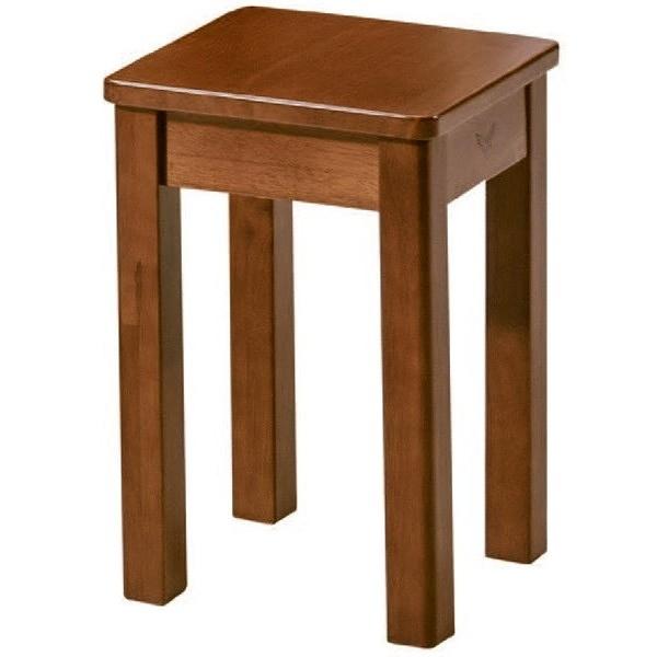 椅子 AT-298-10 柚木色1人板凳【大眾家居舘】