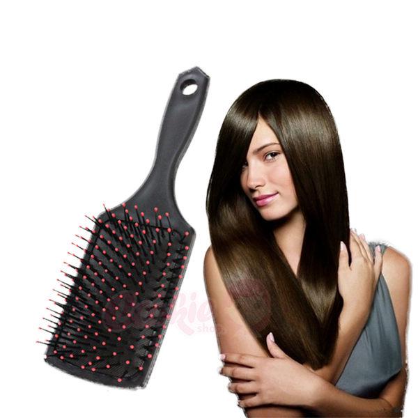 大S推薦 傳說中的美髮神梳 帶氣囊寬齒扁梳子【庫奇小舖】