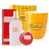 L'OCCITANE 歐舒丹 玫瑰皇后淡香水(75ml)+香膏(10g)加贈馬克杯