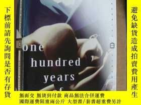二手書博民逛書店One罕見hundred years of Solitude 【