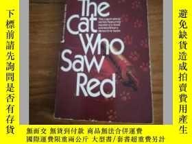 二手書博民逛書店The罕見Cat Who Saw RedY12800 Lilia