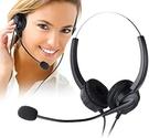 國洋TENTEL K-362雙耳靜音鍵 headset phone 台灣大哥大客服行銷電話耳機 亦有家用電話耳機麥克風