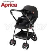 愛普力卡 Aprica 四輪自動定位導向型嬰幼兒手推車 Optia新視野 -酷點黑