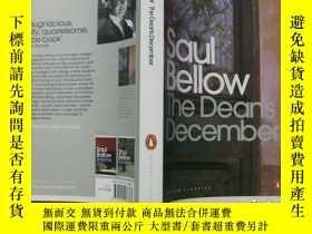 二手書博民逛書店Saul罕見Bellow:The Deans December(
