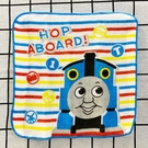 【震撼精品百貨】湯瑪士小火車_Thomas & Friends~湯瑪士~日本紗布手帕-線條*39398