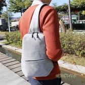 新款韓版潮胸包男休閒男士單肩包斜挎包大容量防水潮牌學生小背包「時尚彩虹屋」