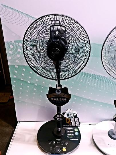 國際牌 14吋nanoeX DC電風扇 F-H14EXD-K晶鑽棕
