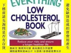 二手書博民逛書店The罕見Everything Low Cholesterol BookY410016 Shirley S A