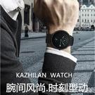 男士手錶新款蟲洞概念高中生手錶男學生青少年潮流防水機械錶 阿卡娜