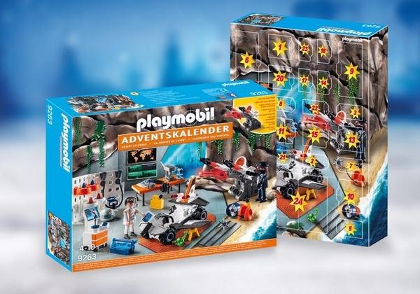 Playmobil 摩比 9263 特務降臨曆