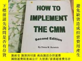 二手書博民逛書店HOW罕見TO IMPLEMENT THE CMMY204356
