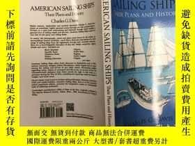二手書博民逛書店American罕見Sailing Ships: Their P