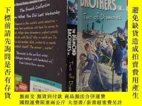 二手書博民逛書店the罕見diamond brothers in …tow of diamonds 鉆石兄弟在…鉆石拖Y200