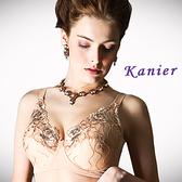 【Kanier】古典雙色繡花胸罩(膚_EF_2583)