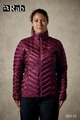 【速捷戶外】英國 Rab QIO-15 Altus Jacket 女暖雲纖維保暖立領外套(醬果紫), 雪衣,登山,賞雪