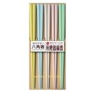 asdfkitty可愛家-日本製-耐熱220度-淺色八角筷子-防滾動.好夾菜-洗碗機可用