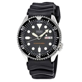 SEIKO 精工手錶專賣店 SKX013K1  潛水運動男錶 橡膠錶帶  黑  藍寶石鏡面  防水200米