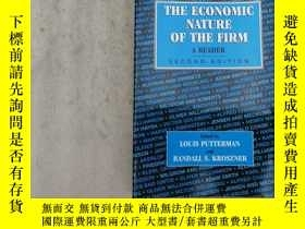 二手書博民逛書店THE罕見ECONOMIC NATURE OF THE FIRM
