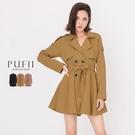 限量現貨◆PUFII-外套 傘擺洋裝式風...