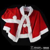 披風 聖誕節聖誕服女成人 表演服披風兒童披肩 聖誕衣服聖誕老人演出服【韓國時尚週】