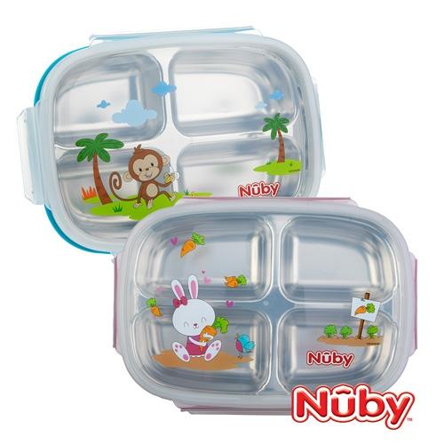 Nuby 不鏽鋼分格餐盒(款式任選)