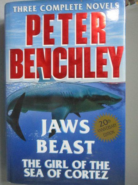 【書寶二手書T9/原文小說_YGK】Three Complete Novels_Peter Benchley