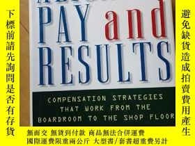 二手書博民逛書店ALIGNING罕見PAY and RESULTSY255221