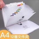 【BlueCat】12層 A4透明資料夾...