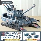 坦克 兒童大號坦克玩具車慣性男孩多功能合金軍事汽車套裝耐摔