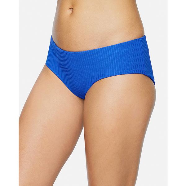 HURLEY|女 RIB BOY SURF BOTTOM BLACK 比基尼褲-(藍)