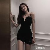 格格家 酒吧蹦迪衣服性感夜店吊帶洋裝女夜總會氣質高級感短裙 極簡雜貨