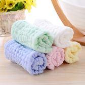 六層紗布嬰兒毛巾長方形手帕新生兒口水巾兒童洗臉寶寶洗澡巾【全館免運好康八五折】