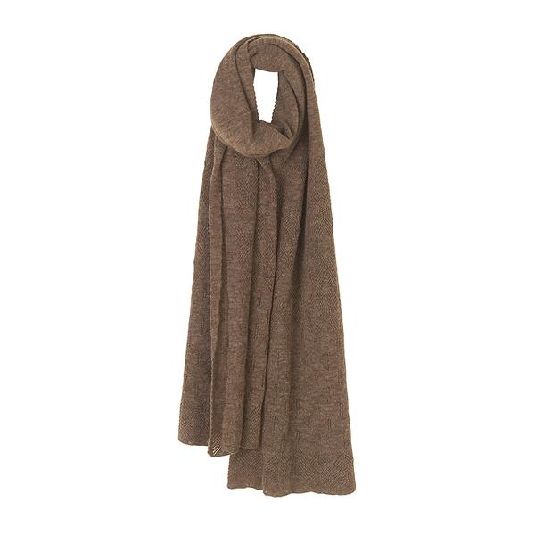 Elvang Paris Alpaca Wool Scarves 巴黎系列 素面單色 超輕量 羊駝毛 圍巾 - 2019 秋冬仕樣(咖啡濃褐)