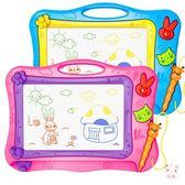 兒童磁性畫板磁性彩色大號寫字板寶寶幼兒園涂鴉畫畫板家用畫寫板玩具XW(1件免運)