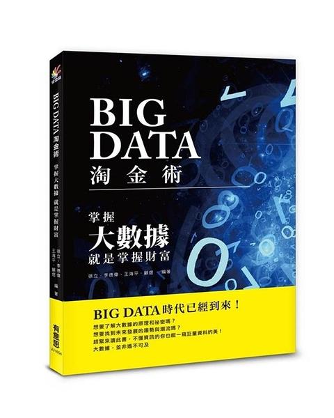 (二手書)BIG DATA淘金術:掌握大數據,就是掌握財富
