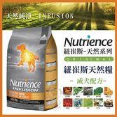 *WANG*美國Nutrience紐崔斯《INFUSION天然成犬飼料-雞肉》10公斤