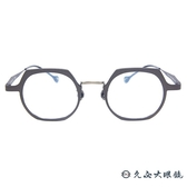 Kaffeine 咖啡因 KK No.6 C3 (銅) 韓國設計 近視眼鏡 久必大眼鏡